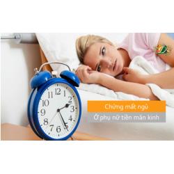Khắc phục chứng mất ngủ ở phụ nữ tiền mãn kinh