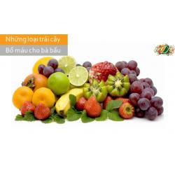 Những loại trái cây bổ máu cho bà bầu mẹ nên tham khảo