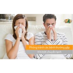 Phòng tránh các bệnh thường gặp khi trời chuyển lạnh