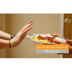 Tác hại của việc nhịn ăn tối để giảm cân