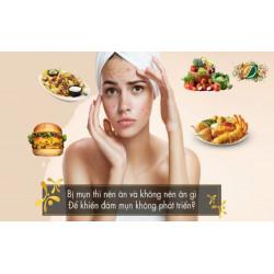 Những thực phẩm không tốt cho da mụn bạn nên tránh